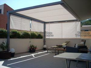 Catálogo de toldos exteriores anillas balcón terraza para comprar online