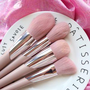 La mejor recopilación de brochas maquillaje mezcla colorete calidad para comprar Online