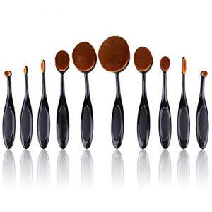 Lista de brochas maquillaje Molain cepillo dientes para comprar – Los más solicitados