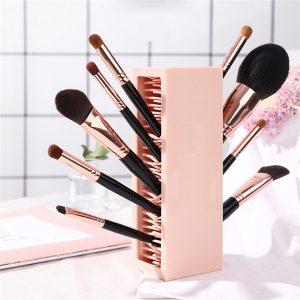 Recopilación de brochas maquillaje sombra soporte silicona para comprar on-line