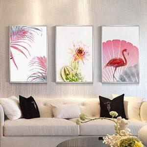 El mejor listado de lona Pintura Colgante Nordico flamenco decorativa 60cm_Fatura para comprar