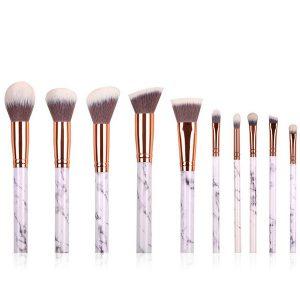 Recopilación de brochas maquillaje diseño mármol brocha para comprar Online