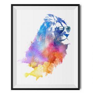 Reviews de Lona Lion Painting Posters Pictures Unframed para comprar