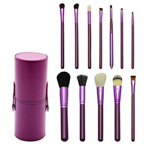 La mejor lista de brochas maquillaje Cepillo redondo púrpura para comprar On-line