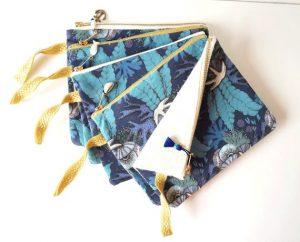 Lona frontal broche azul marino que puedes comprar