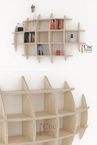 Recopilación de LONA Libreria salon Librerias Estanteria para comprar por Internet