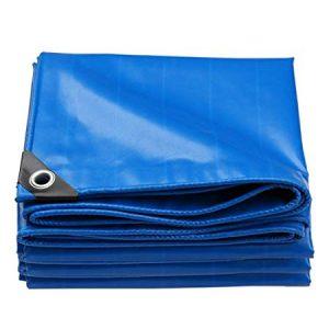 azul de 260/g//m/²/de densidad para protecci/ón exterior Etm resistente al agua y a los rayos UV Lona impermeable con ojal diferentes tama/ños y colores a elegir muy gruesa