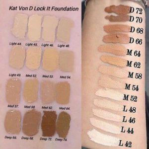 Selección de base de maquillaje liquido lock it f para comprar On-line