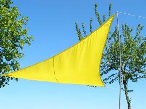 Toldos Kookaburra Amarillo Triangular Impermeable que puedes comprar On-line