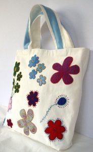 lona del algodon bolso mano que puedes comprar on-line