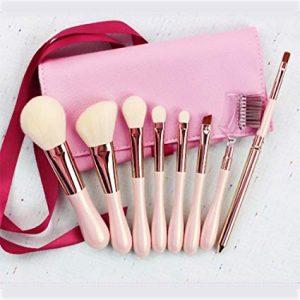 La mejor selección de Brochas Maquillaje Cepillo Portátil Oblicua para comprar