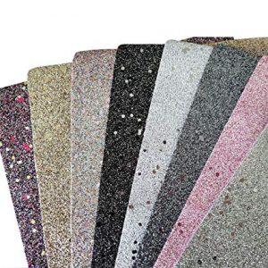 Catálogo de Lona sintetica purpurina manualidades colores para comprar online – Los más vendidos