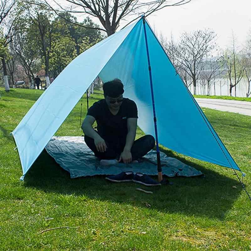 Ao Tuo Carpa Lona toldo Sol Sombra Lluvia Refugio Camping a Prueba de Humedad Estera de Picnic Tienda de campa/ña Lona de Lona toldo Estera