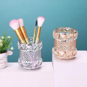 Lista de brochas maquillaje hierro unidades dorado para comprar por Internet