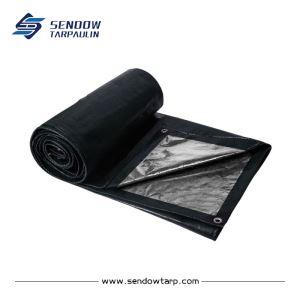 Lona resistente color plateado negro que puedes comprar en Internet