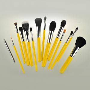 Opiniones de brochas maquillaje juegos cepillo amarillo para comprar en Internet