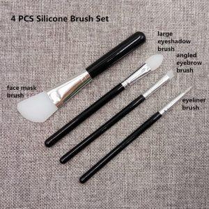 La mejor recopilación de brochas maquillaje madera silicona difuminar para comprar en Internet