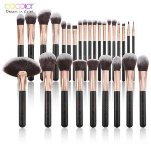Recopilación de Brochas maquillaje base polvo sombra para comprar online – Los mejores