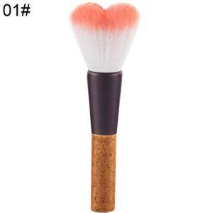 Recopilación de Brochas Maquillaje Corazón Completa Portátil para comprar por Internet