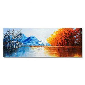 Lista de Lona Impresa Lago Paisaje Pintura para comprar por Internet – El Top Treinta