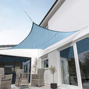Toldos Kookaburra Celeste Triangular Impermeable disponibles para comprar online – Los 20 preferidos