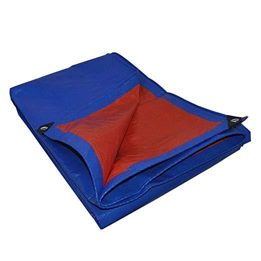 + cuerda de 20 m 120 g//m2 lona impermeable 4 x 5 m piscina lona de protecci/ón impermeable y resistente a la rotura lona de protecci/ón con ojales para muebles de jard/ín coche camiones CoverUp
