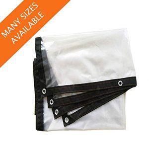 Recopilación de toldos impermeable Transparente plástica Cubierta para comprar
