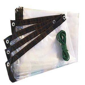 Lona transparente impermeable perforada cobertizo que puedes comprar Online – Los favoritos