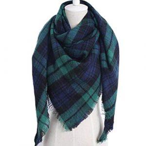 El mejor listado de Lona Scott cachemira tartan bufandas para comprar On-line – Los preferidos por los clientes
