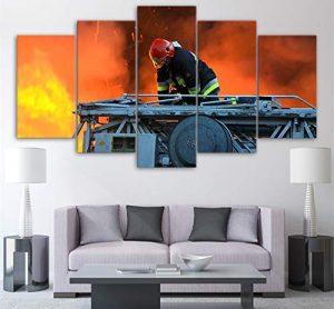 Lista de lona Impresiones Incendios Decoracion hogar 40x60cmx2 40x100cmx1 para comprar – Los Treinta favoritos
