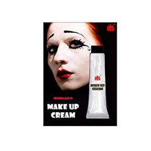 base de maquillaje Halloween blanco que puedes comprar on-line