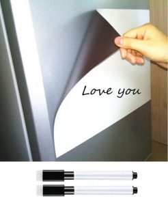Recopilación de lona magnetica pizarra refrigerador nuevo para comprar Online