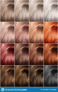 Recopilación de paleta de colores tinte pelo para comprar on-line