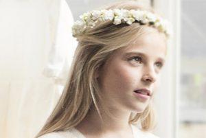 Recopilación de flores pelo comunion para comprar on-line