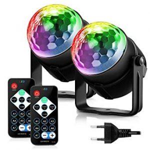 Opiniones de luces discoteca baratas para comprar online – Los preferidos