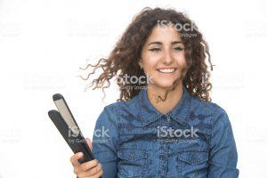 La mejor recopilación de pelo rizado con plancha para comprar On-line