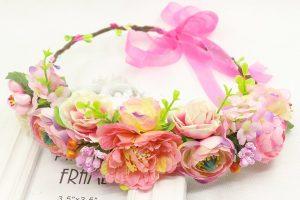 flores en cintas para el cabello que puedes comprar en Internet