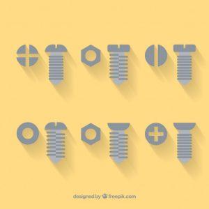 Catálogo para comprar vectores de tornillos – Favoritos por los clientes