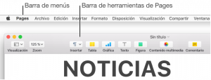 Catálogo para comprar en Internet barra de herramientas