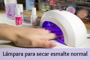 La mejor selección de lampara uv uñas para esmalte normal para comprar en Internet