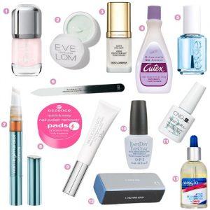 Lista de productos para manicura para comprar online