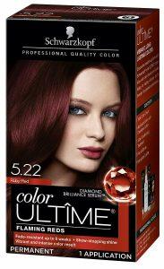 Selección de tinte rojo intenso para comprar On-line