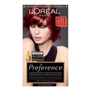La mejor selección de tinte rojo loreal para comprar on-line