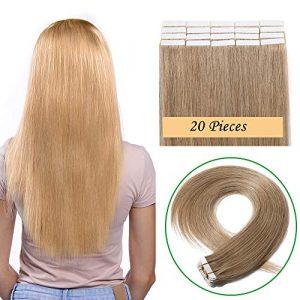 La mejor selección de extensiones adhesivas de pelo natural para comprar online – Los 20 más vendidos