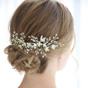 Catálogo para comprar on-line horquillas de novia para el pelo – El Top Treinta
