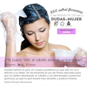 Listado de tinte de pelo durante el embarazo para comprar en Internet