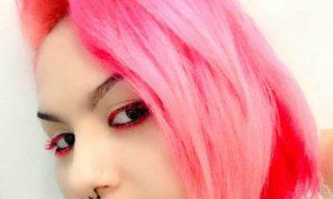 tinte de pelo rosa pastel que puedes comprar en Internet