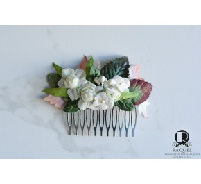 Recopilación de peinetas de flores para comprar On-line – Los preferidos por los clientes