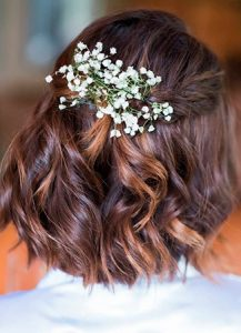 Lista de flores de novia para el pelo para comprar on-line – Los más vendidos