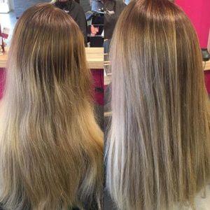 Selección de tinte de pelo color rubio ceniza para comprar online